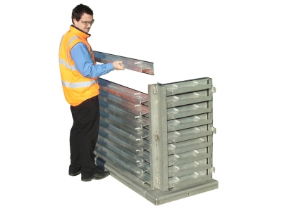 manually deployed flood protection barriers