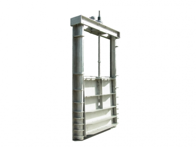 Wedge locking penstocks for excellent sealing against high head pressures
